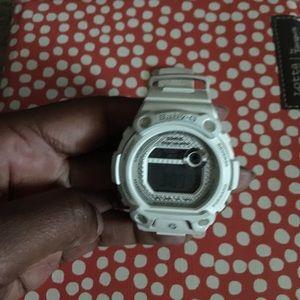 White Baby- G Shock Watch